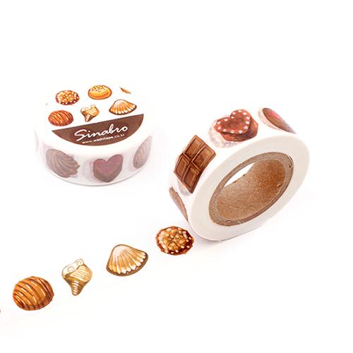 [마스킹테이프] 카카오 초콜릿